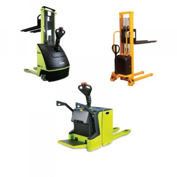 Electric Powered Pallet Truck and Stackers